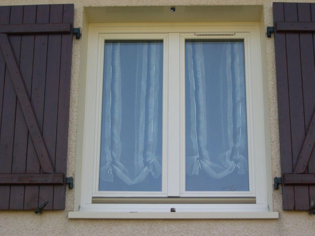 Volets fenêtres sur mesure