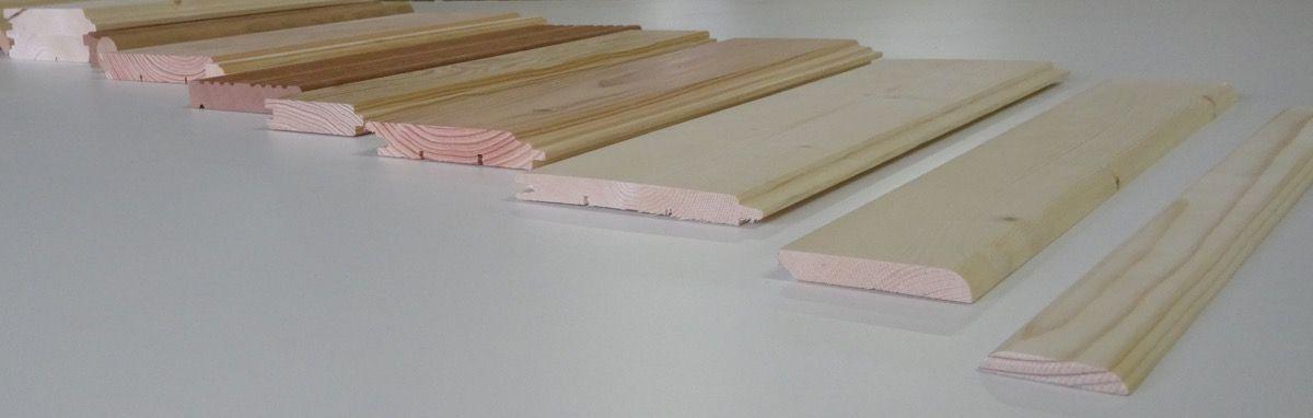 Planche de bois encastrables